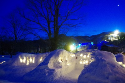 小樽雪あかりの路2016 朝里 Snow Light Village