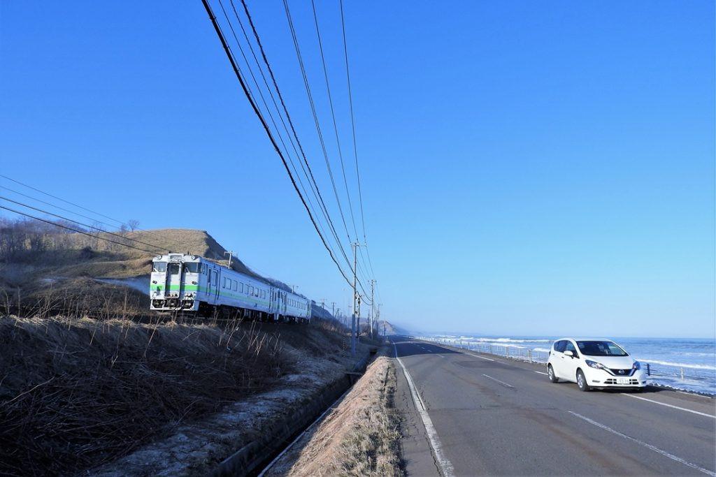 北海道ドライブ画像,北海道キハ40