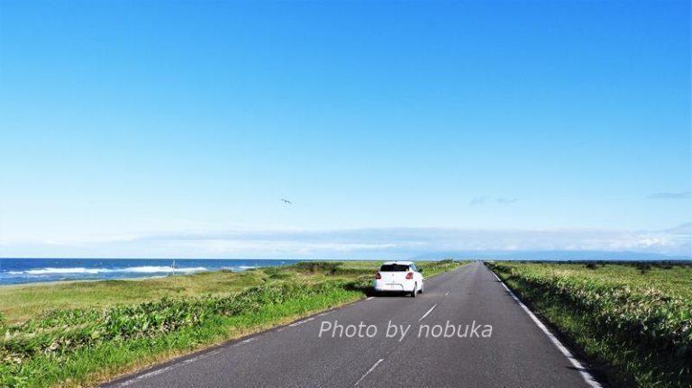 北海道一周ドライブ・猿払村エサヌカ線