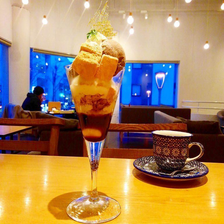 CAFE NOYMOND パフェ