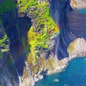 知床「男の涙」虹の滝(Photo by nobuka)