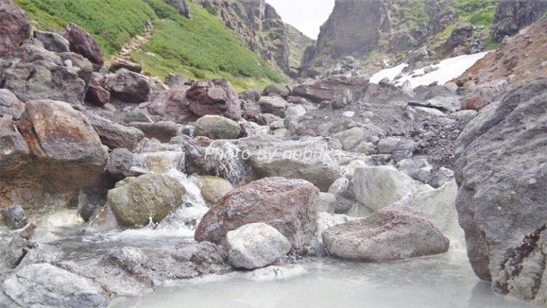 中岳温泉では湯船から眺める視点も最高!