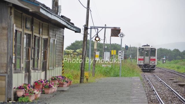 JR宗谷本線抜海駅構内