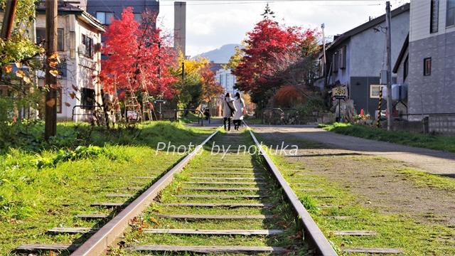 小樽にできた北海道初の鉄道路線「旧国鉄手宮線」は散策路として整備されて絶好の観光名所に